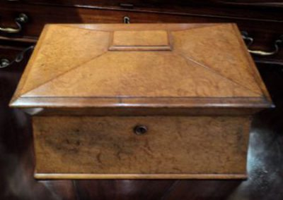 Burr Walnut Jewellery box