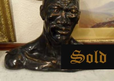 Bronze bust -SOLD